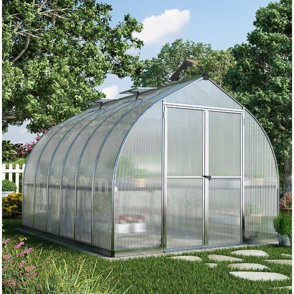 Bella 8 Ft. W x 12 Ft. D Greenhouse by Palram