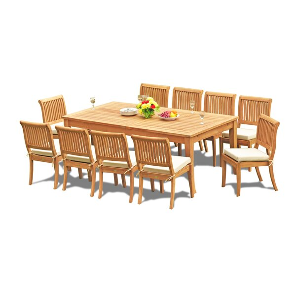 Masson 11 Piece Teak Dining Set