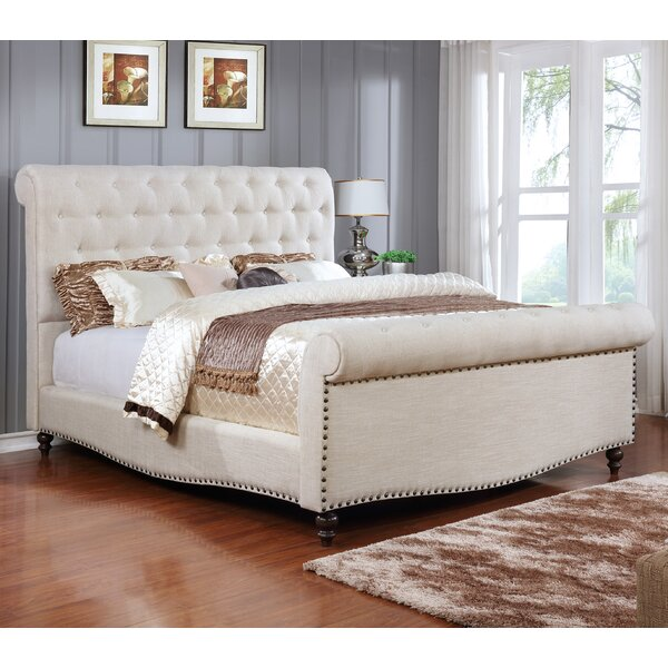 Marla Upholstered Sleigh Bed by Darby Home Co