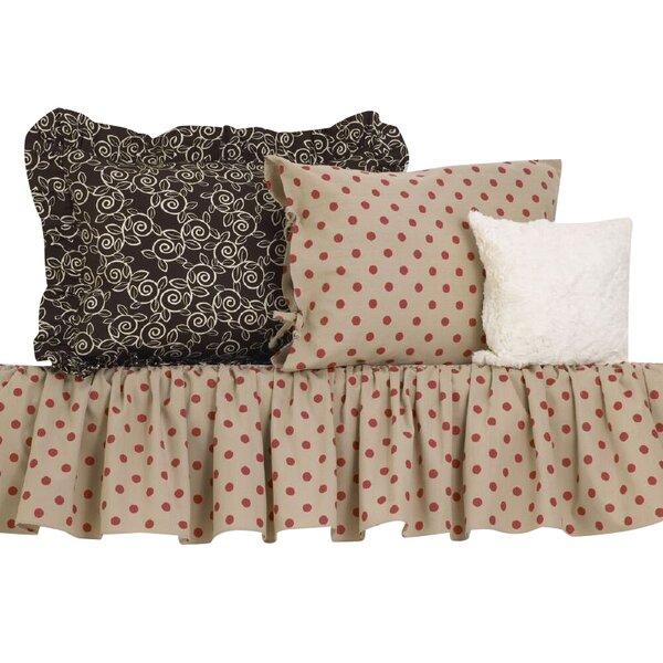 Raspberry Dot Comforter Set by Cotton Tale
