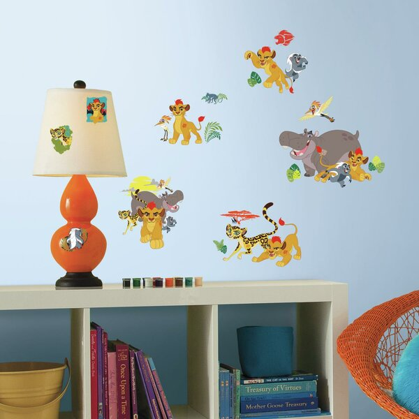 Lion Guard Peel and Stick Wall Decal by Room Mates