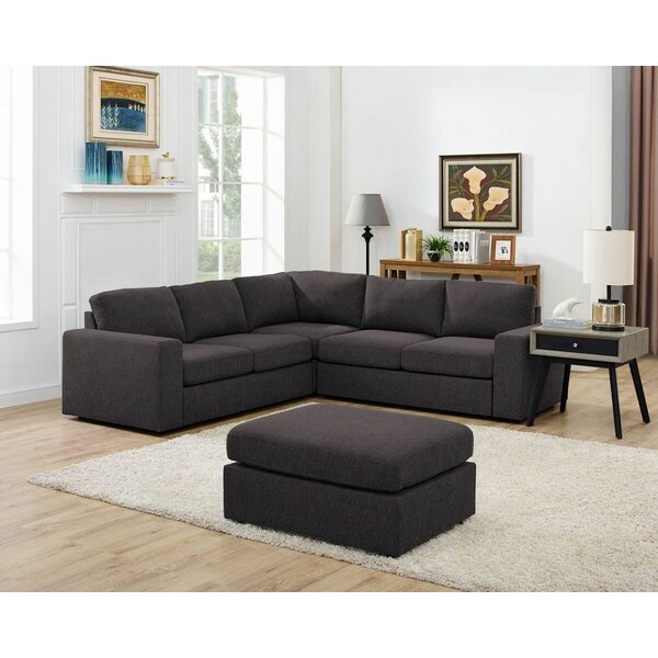 Rivka Modular Sectional with Ottoman by Ivy Bronx