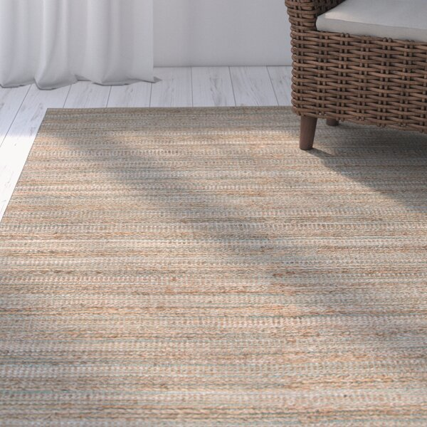 Ina Hand-Woven Taupe/Beige Area Rug by Highland Dunes