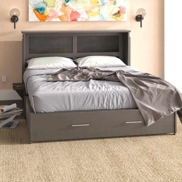 Edmeston Queen Storage Murphy Bed with Mattress by Latitude Run