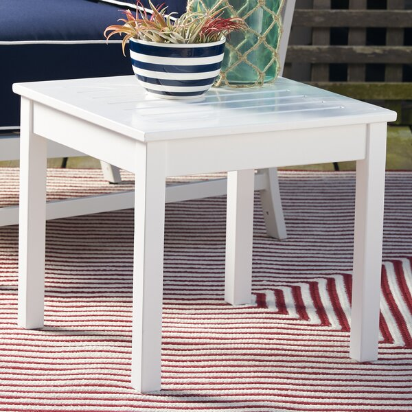 Wooden Side Table by Andover Mills