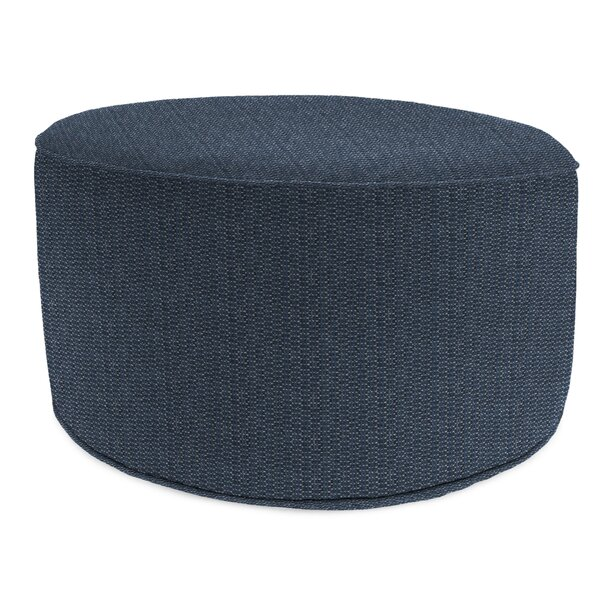 Langlois Outdoor Ottoman with Cushion by Ivy Bronx