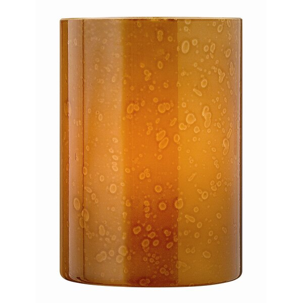 Luxe 4 Glass Drum Wall Sconce Shade by Fredrick Ramond