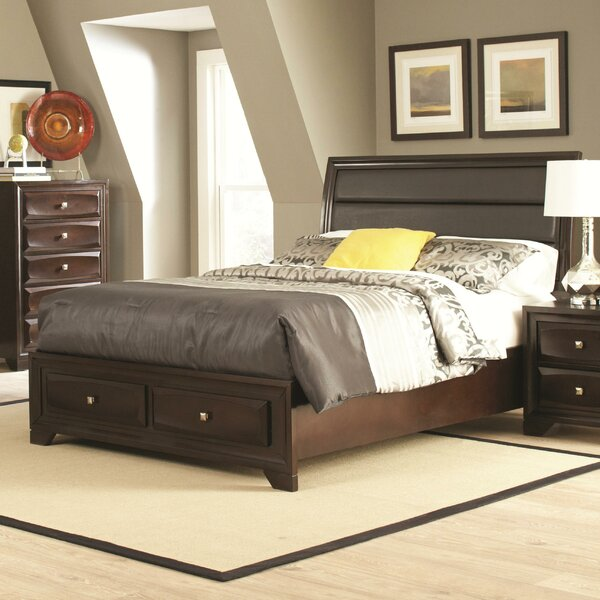 Wasserhund Upholstered Storage Panel Bed by Darby Home Co