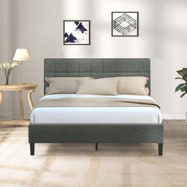 Servidio Queen Upholstered Sleigh Bed by Latitude Run