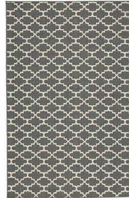 Etzel Gray/Tan Area Rug by Ebern Designs