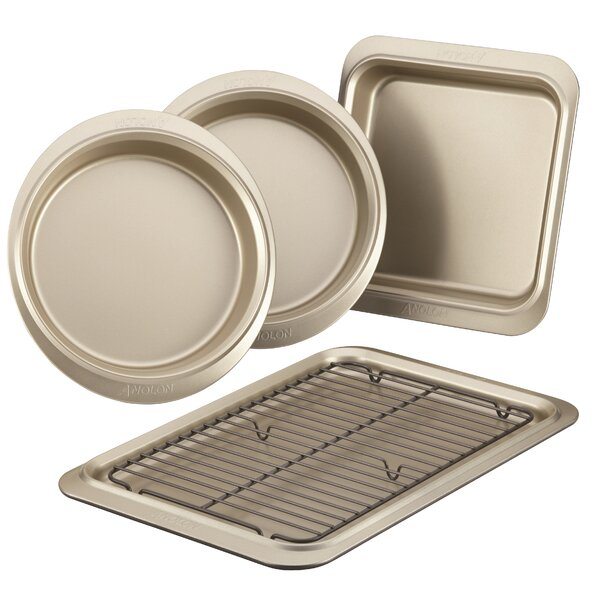 Non-Stick 5 Piece Bakeware Set by Anolon