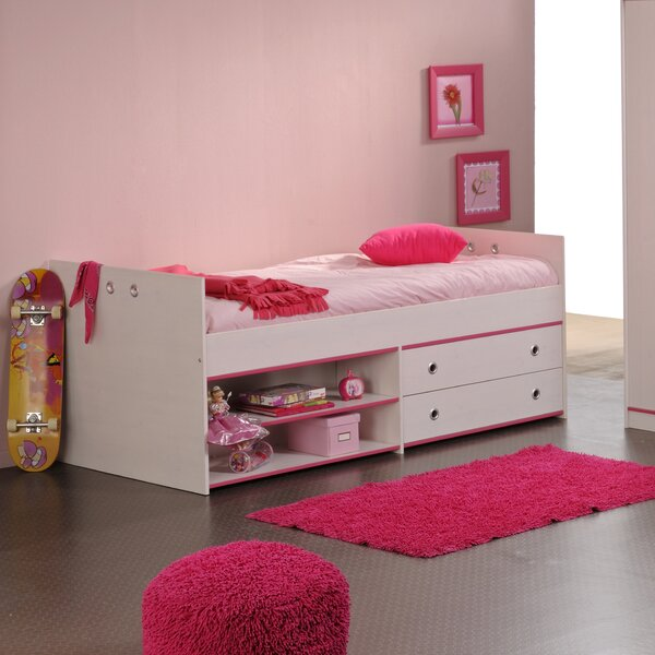 Raffa Platform Bed with Drawer by Harriet Bee