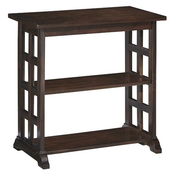 Outdoor Furniture Lothen Trestle End Table With Storage
