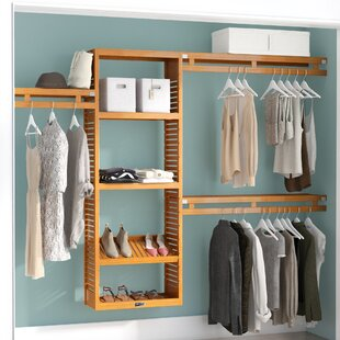 Closet Systems Solid Wood Closet Storage Organization You