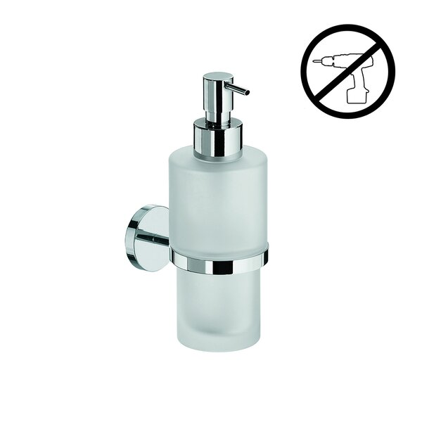 Duemila Self-Adhesive Soap Dispenser by WS Bath Collections