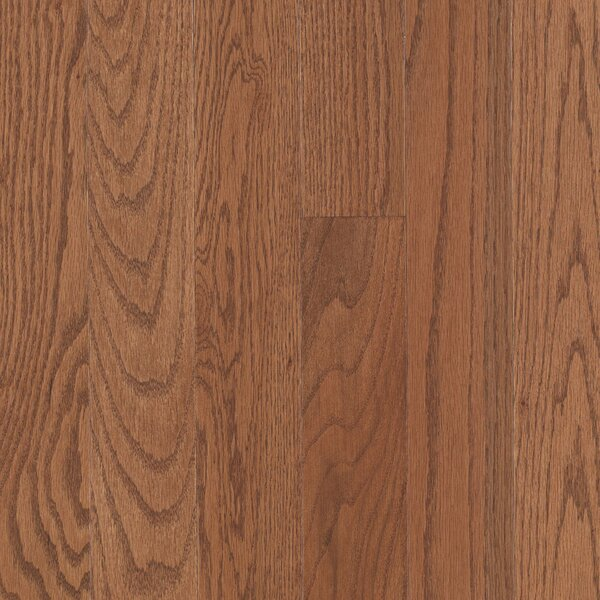 Randhurst SWF 3-1/4 Solid Oak Hardwood Flooring in Gunstock by Mohawk Flooring