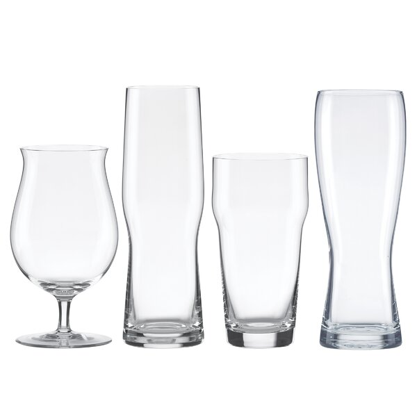 Tuscany Classics 4 Piece Crystal Assorted Glassware Set by Lenox