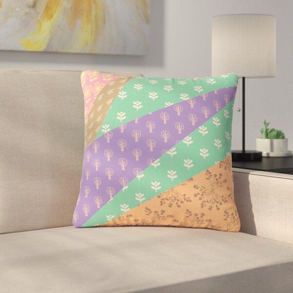 Famenxt Garden Digital Outdoor Throw Pillow by East Urban Home