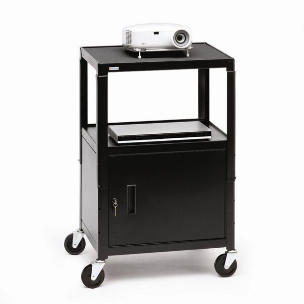 UL Listed Adjustable AV Cart by Bretford Manufacturing Inc