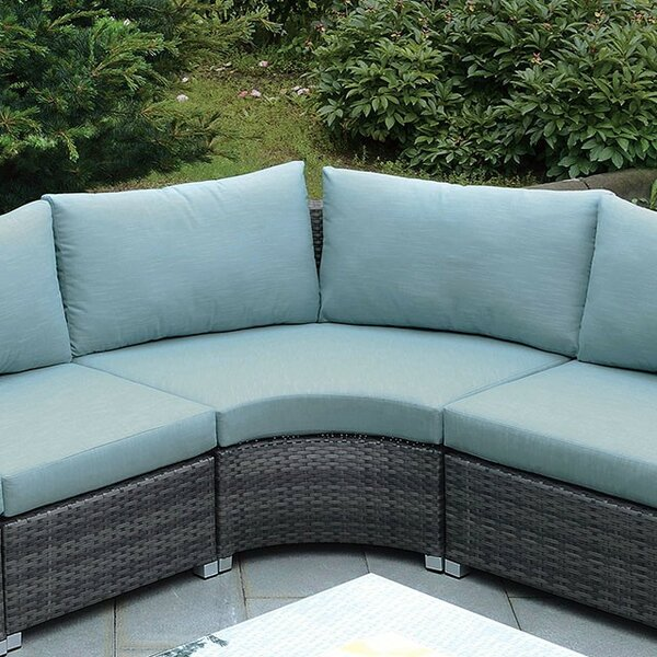 Correa Patio Chair with Cushion by Rosecliff Heights