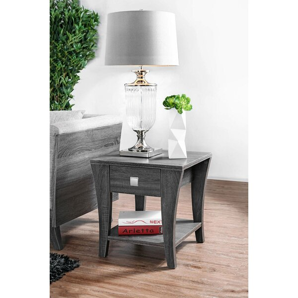 Cedillo End Table with Storage by Latitude Run Latitude Run