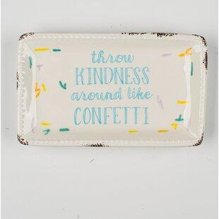 Price comparison Kindness Trinket Accessory Tray ByWinston Porter