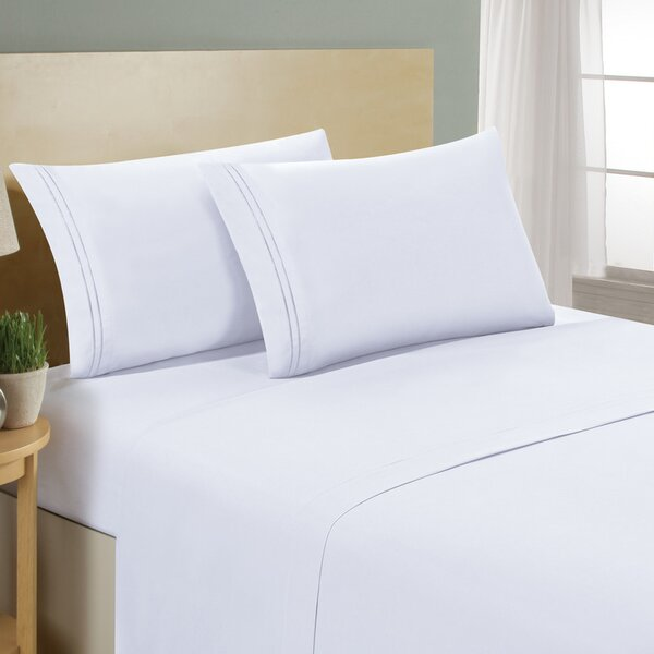 Erardo 1500 Series Collection Premium 4 Piece Bed Sheet Set by The Twillery Co.