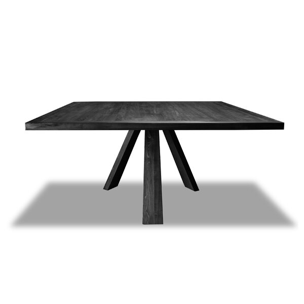 Nunley Solid Wood Dining Table by Union Rustic