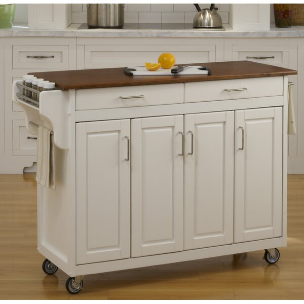 Amazing Regiene Kitchen Island By August Grove Great price