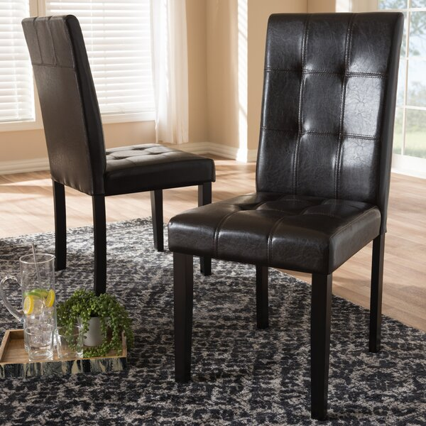 Enders Upholstered Dining Chair (Set of 2) by Winston Porter