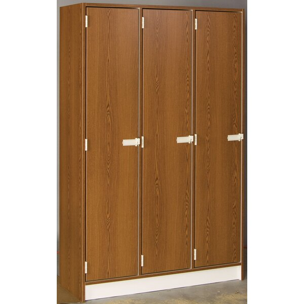 Lockers 1 Tier 3 Wide Employee Locker by Stevens I