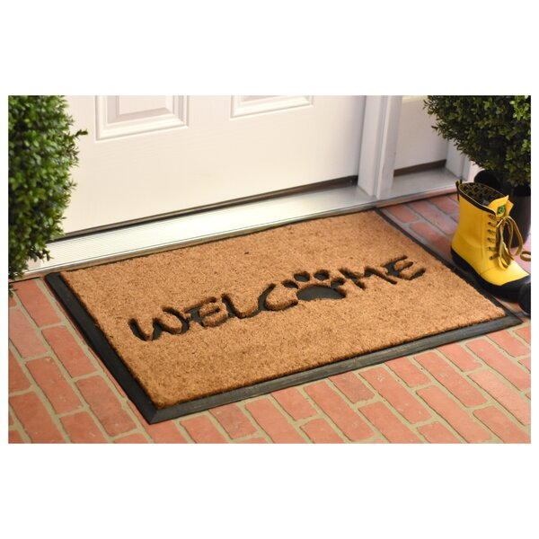 Kring Welcome Paw Doormat by Winston Porter