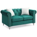 Lassiter Chesterfield Loveseat by House of Hampton®