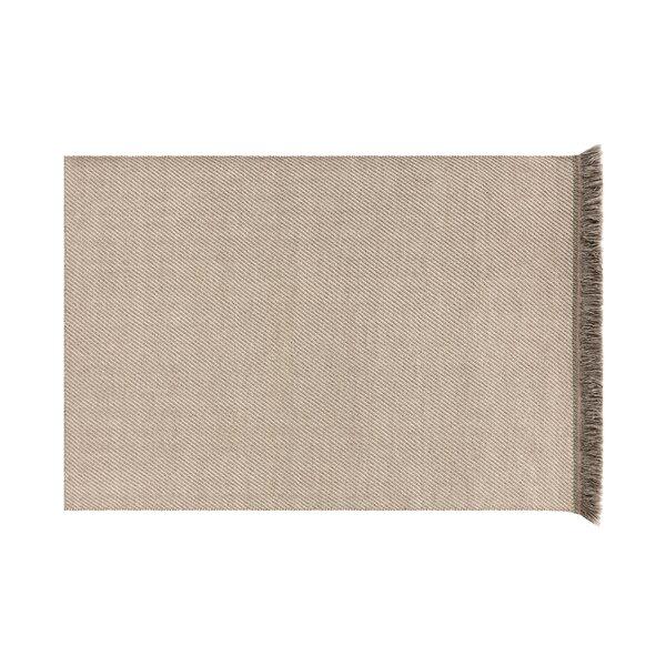 Garden Layers Diagonal Almond/Ivory Indoor/Outdoor Area Rug by Gandia Blasco