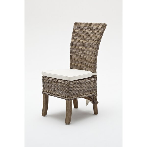 Branford Patio Dining Chair with Cushion (Set of 2) by Beachcrest Home