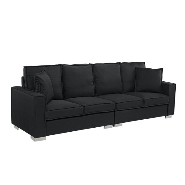 Hubert Modern Low Frame Sofa by Orren Ellis