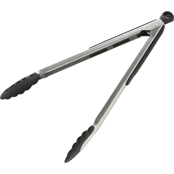 Good Grips Tongs With Nylon Heads by OXO
