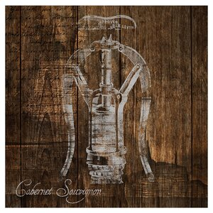 Corkscrew Giclee Print of Painting Canvas by PTM