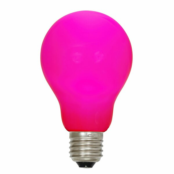 12W Pink E26 LED Light Bulb by Vickerman
