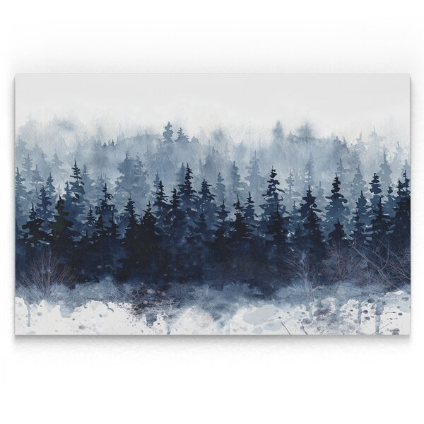 Indigo Forest Print By Loon Peak.