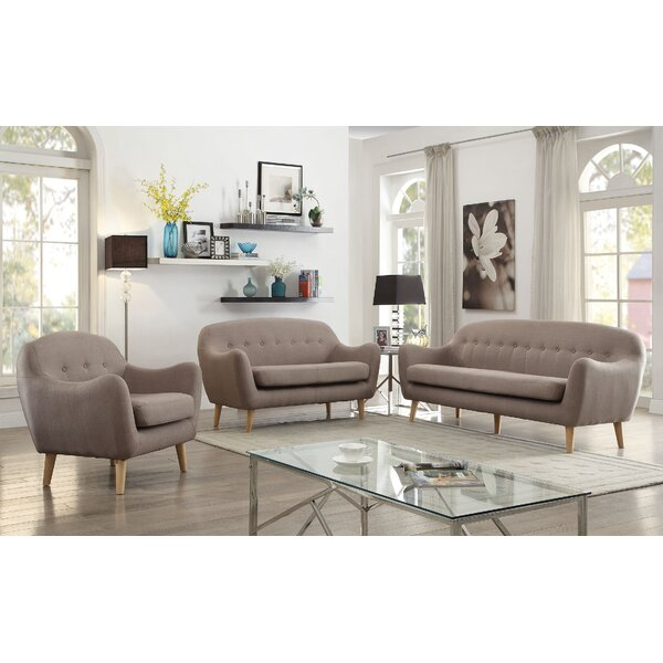 Malaya 3 Piece Living Room Set by Corrigan Studio