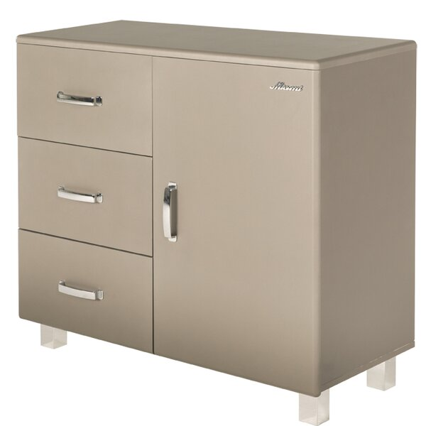Miami 1 Door and 3 Drawer Accent Cabinet by Phoenix Group AG