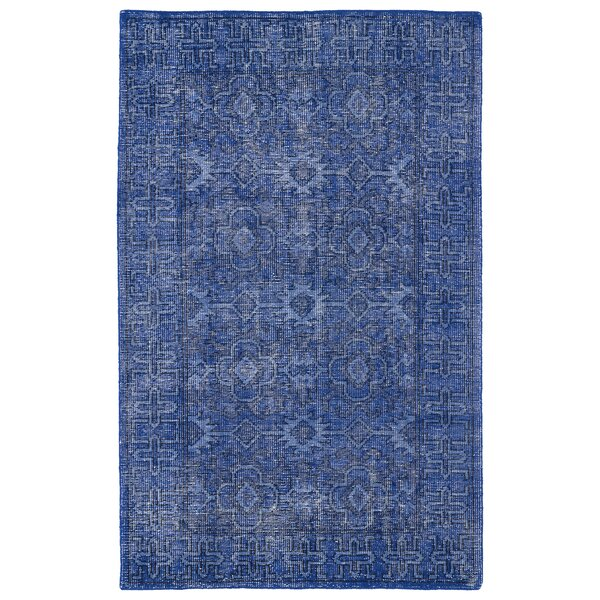 Anjali Blue Area Rug by Mistana