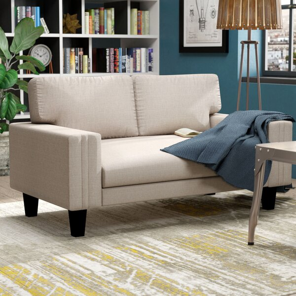 Stow Modern Upholstery Loveseat by Zipcode Design