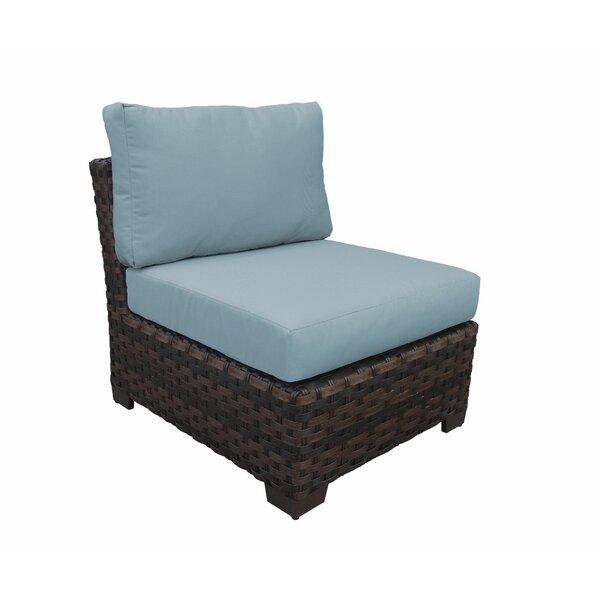 Kathy Ireland Homes & Gardens River Brook Patio Chair with Cushions by kathy ireland Homes & Gardens by TK Classics kathy ireland Homes & Gardens by TK Classics