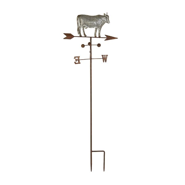 Farmhouse Cow on Weathervane Gothic Trellis by Cole & Grey