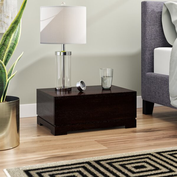 Laura 1 Drawer Nightstand by Latitude Run