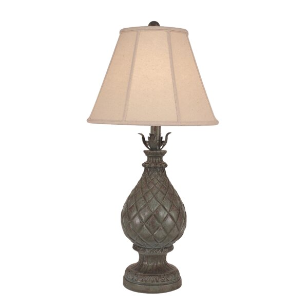 Charlton Regal Pineapple 33 Table Lamp by Bay Isle Home