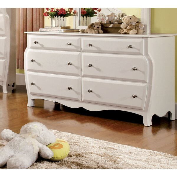Yarusha 6 Drawer Double Dresser by Hokku Designs