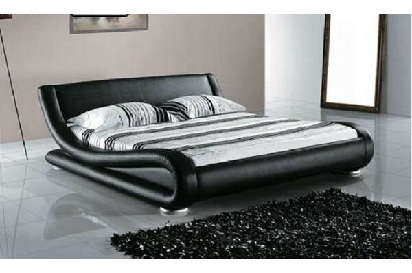 Leavitt Upholstered Platform Bed by Wade Logan